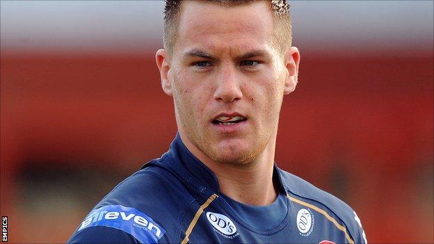 Hull FC winger Jamie Foster