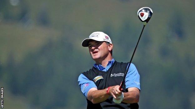 Scotland's Paul Lawrie