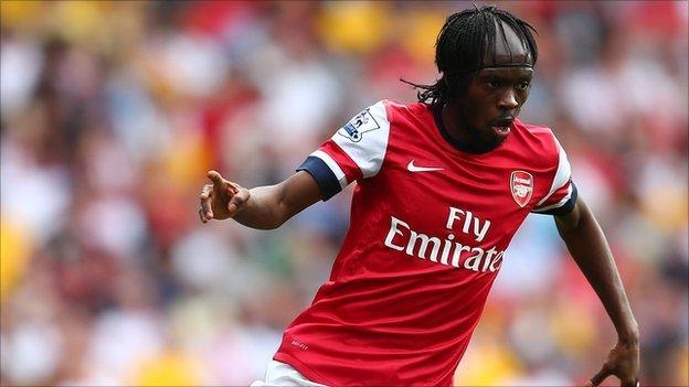 Arsenal striker Gervinho
