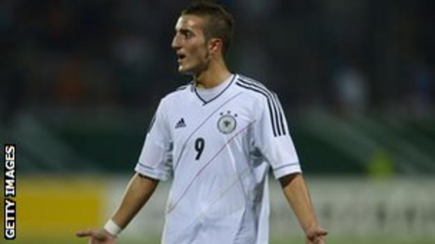 Liverpool striker Samed Yesil.