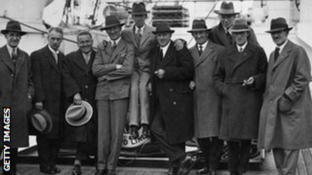 Great Britain & Ireland travel to the United States in 1927