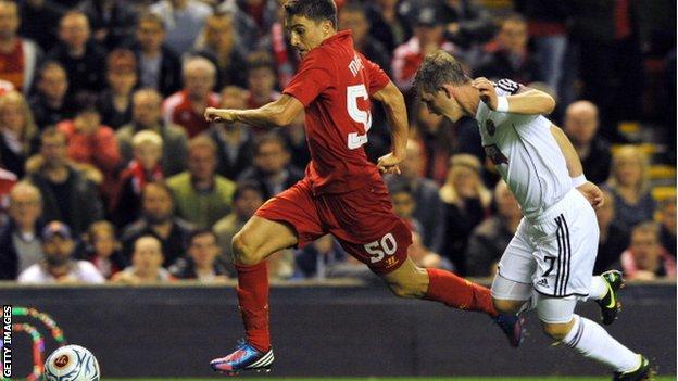 Liverpool's Adam Morgan