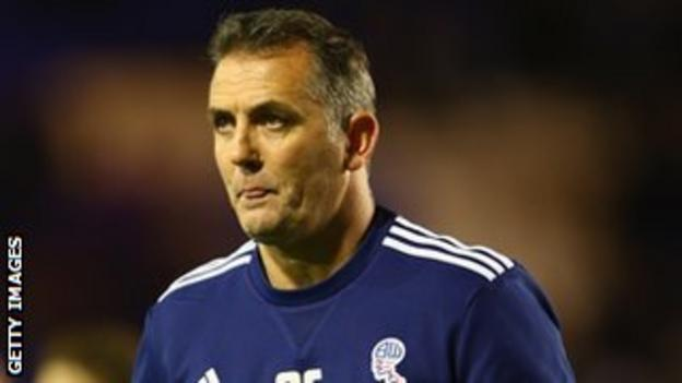 Coyle took over at Bolton in January 2010