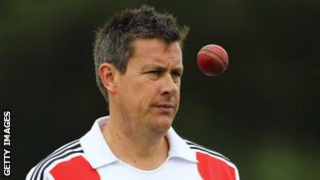 England selector and former international spin bowler Ashley Giles