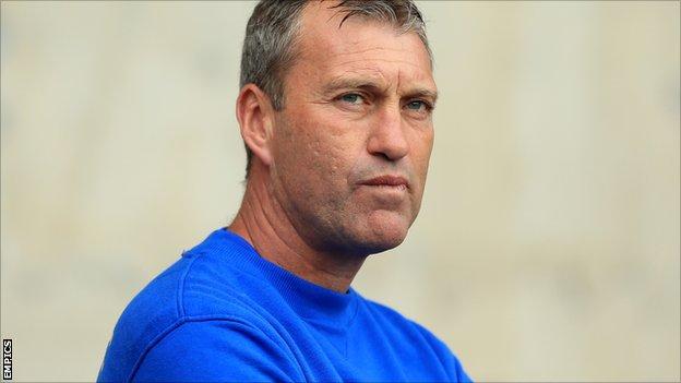 Bury caretaker manager Peter Shirtliff