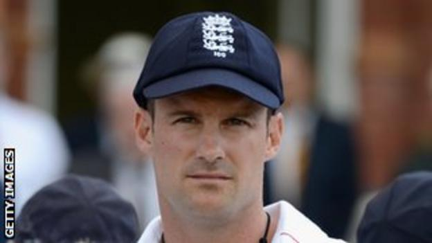 The winter tour to India will be the first Test series since Andrew Strauss relinquished the captaincy