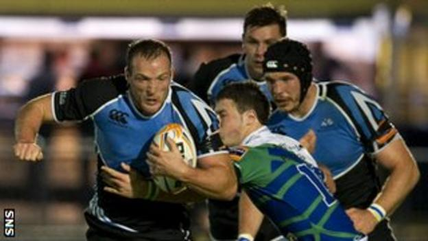 Glasgow Warriors and Connacht players