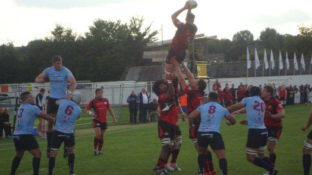Rotherham Titans v Jersey