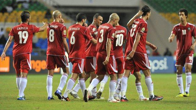 Morocco at the 2012 Africa Cup of Nations