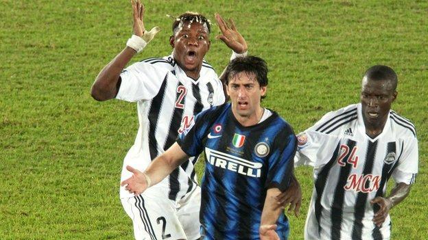 Mazembe v Inter Milan, Club World Cup final, 2010