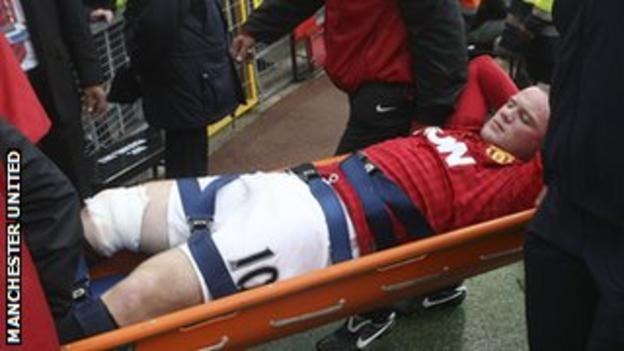 Rooney has not featured for club or country since being injured against Fulham on 25 August