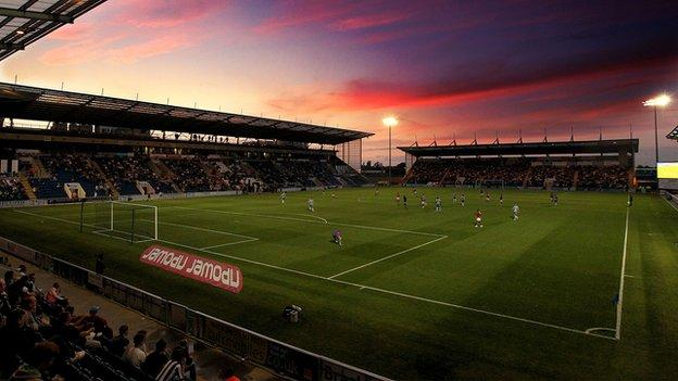 Weston Homes Community Stadium