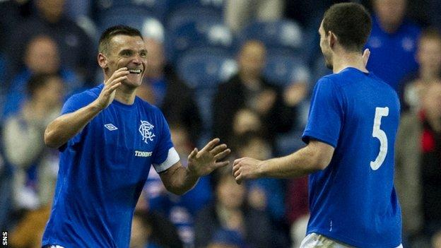 Lee McCulloch and Lee Wallace