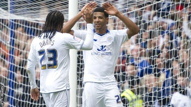 Neil Danns and Jermaine Beckford
