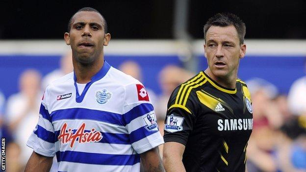 Anton Ferdinand (left) and John Terry