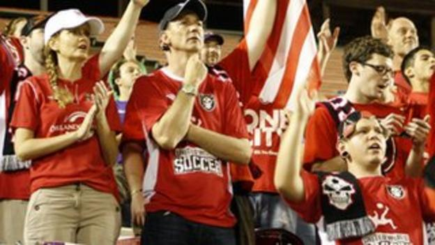 Orlando City supporters