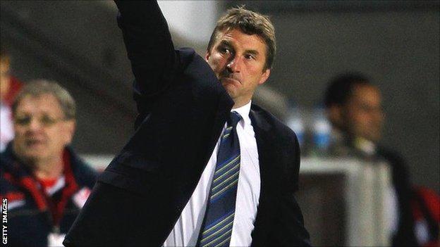Warrington Wolves coach Tony Smith