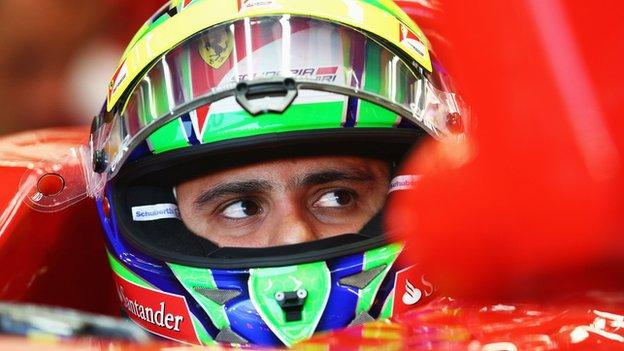 Massa still does not know if he will be at Ferrari next season