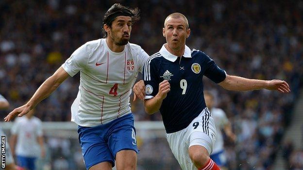Scotland v Serbia