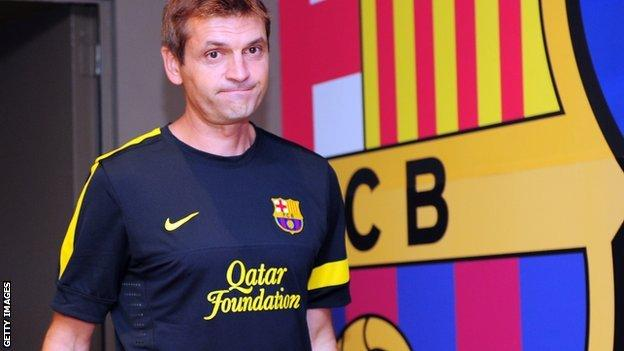 Barcelona boss Tito Vilanova