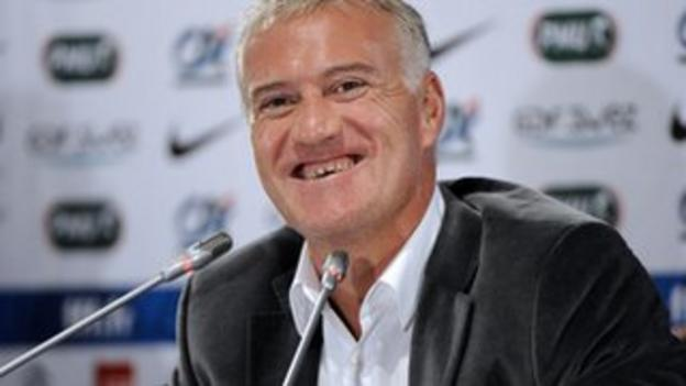 France manager Didier Deschamps