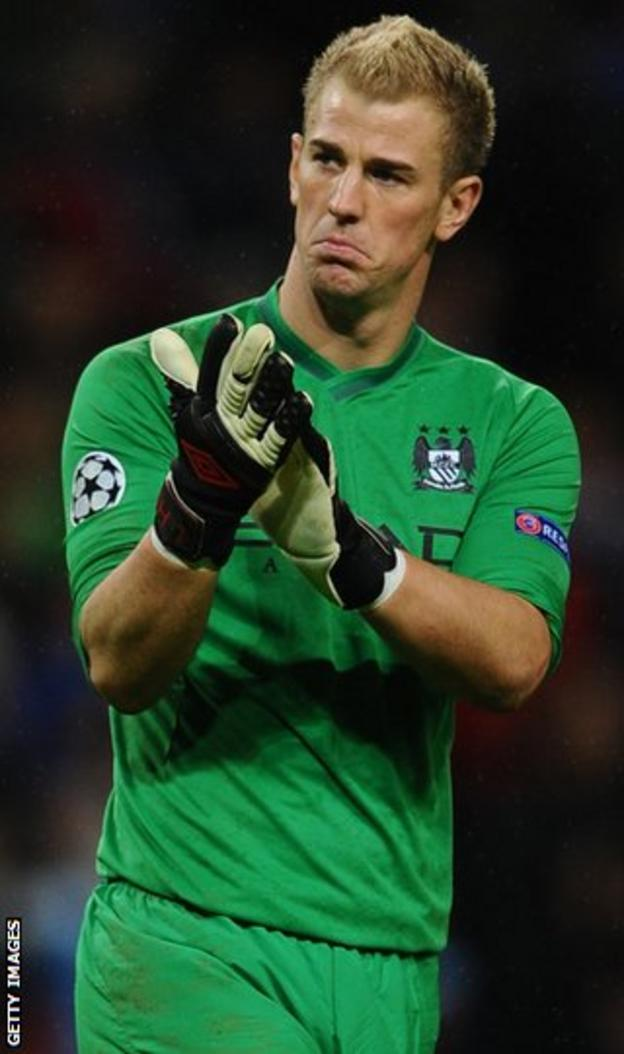 Hart has been in excellent form for Manchester City