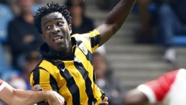 Ivory Coast and Vitesse Arnhem's Wilfried Bony