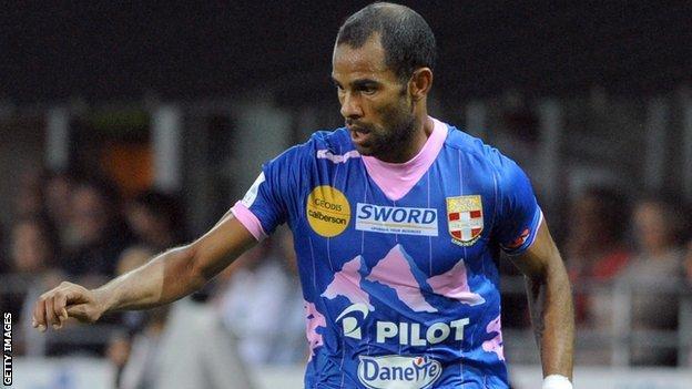 Tunisia and Evian striker Saber Khalifa