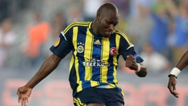 Senegal and Fenerbahce striker Moussa Sow