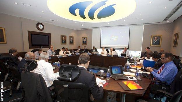 International Cricket Council board meeting