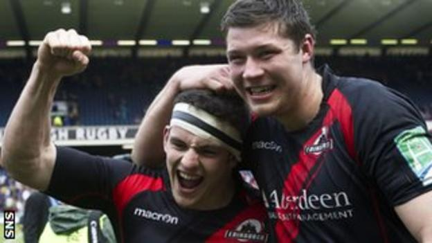 Edinburgh beat Toulouse at a packed Murrayfield to reach last season's semi-finals