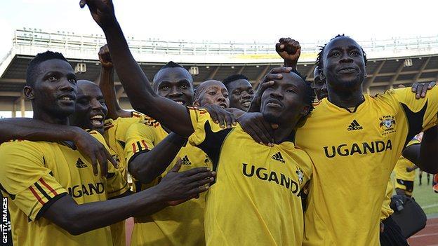 Uganda footballers