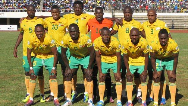 Zimbabwe football team