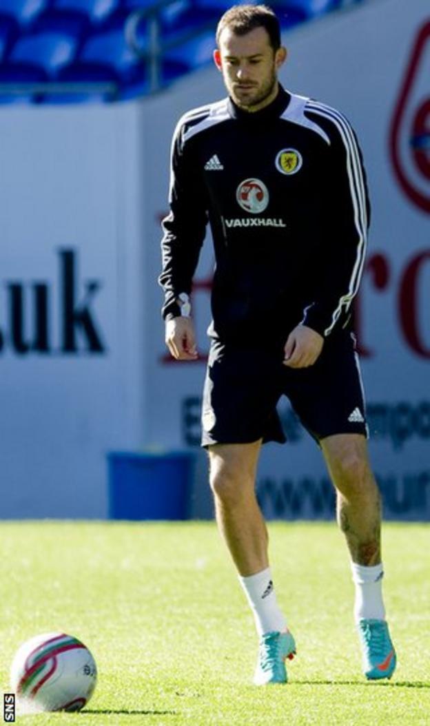 Scotland forward Steven Fletcher