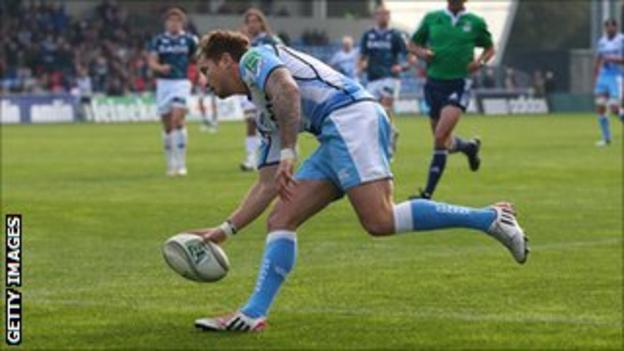 Sale Sharks fly-half Danny Cipriani