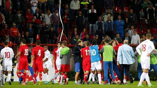 England Under-21s v Serbia Under-21s