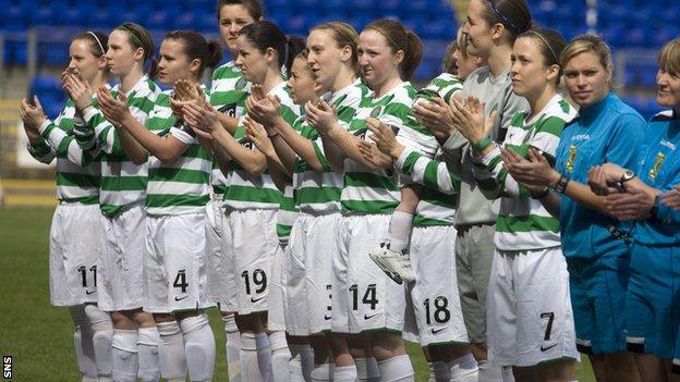 Celtic's women's team