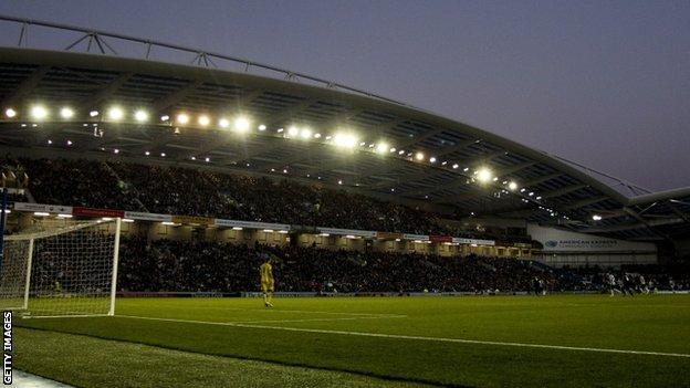 Brighton's Amex stadium