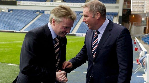 Craig Whyte and Ally McCoist