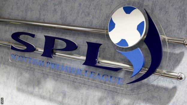 Scottish Premier League logo