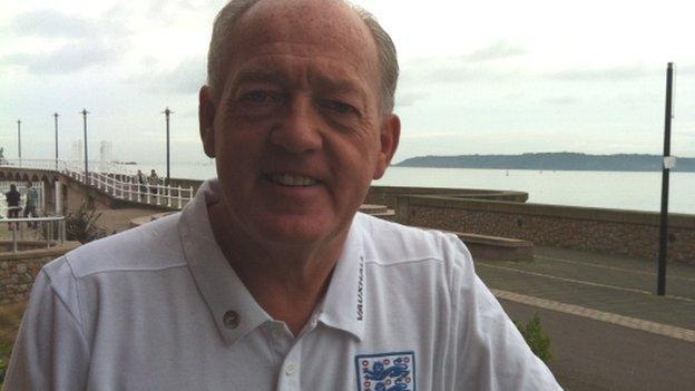 Mick Payne in Jersey