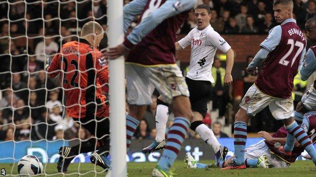 Chris Baird slots in Fulham's winner