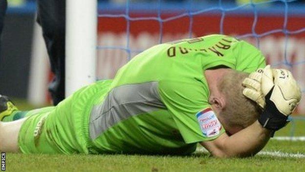 Sheffield Wednesday goalkeeper Chris Kirkland