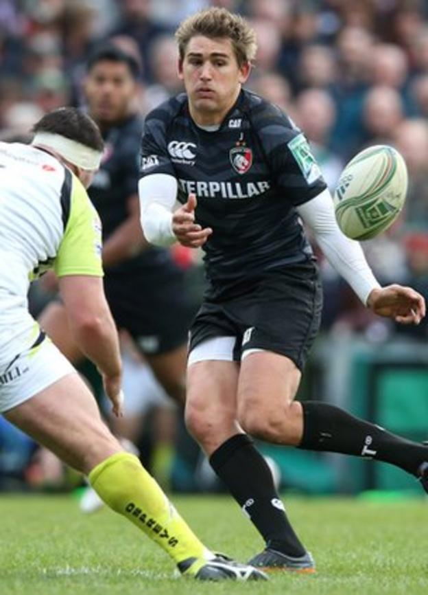 Toby Flood pulls the strings for Leicester