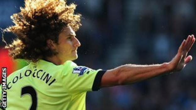 Newcastle defender Fabricio Coloccini