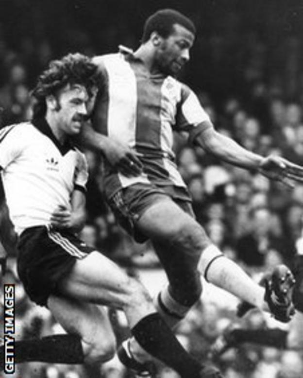 Cyrille Regis in action for West Brom