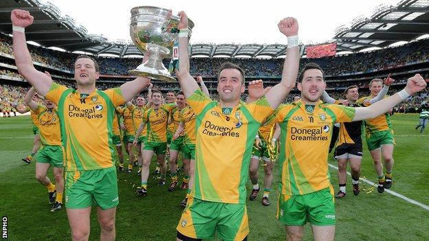 Michael Murphy, Karl Lacey and Mark McHugh are also named in the Football All-Stars