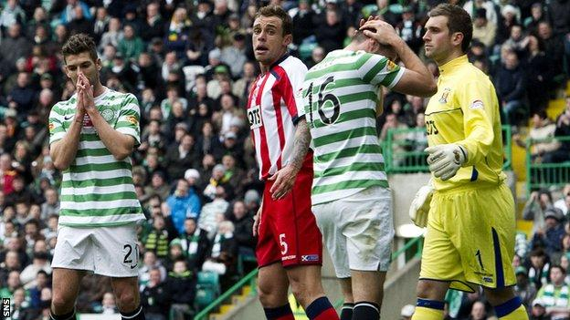 Celtic had a day to forget at home to Kilmarnock