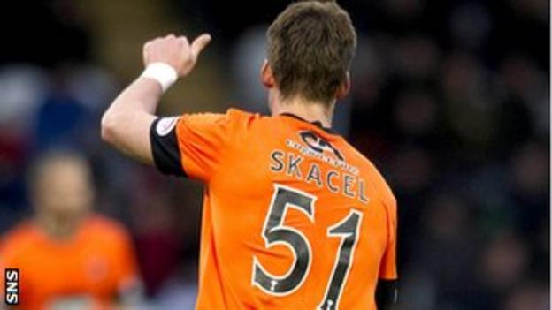 Dundee United midfielder Rudi Skacel