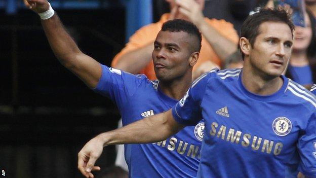 Ashley Cole (left) and Frank Lampard